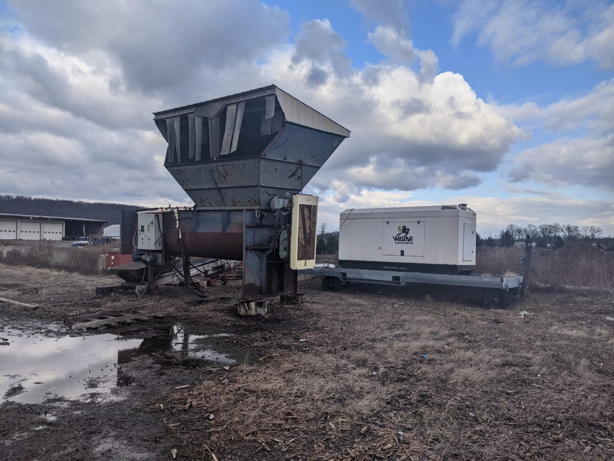 Marion Mixer/ Second harvester